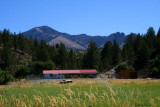 A farm in John Day River valley