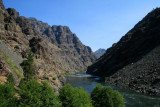 Snake River from Hells Canyon visitors center