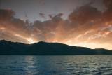Jackson Lake at sundown