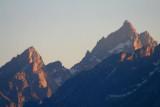 Close up of Grand Teton