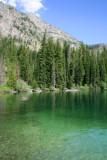 Close up of Jenny Lake