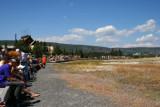 Waiting for Old Faithful, Yellowstone