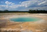 Saphire Pool. Yellowstone