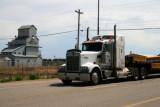 A truck in Nanton