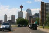 Entering Calgary