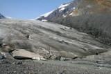 Athabasca Glacier close up