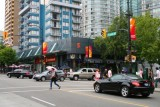 Robson Street in Vancouver