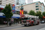 A fire engine in Vancouver