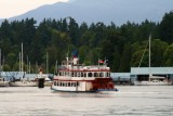 A paddle steamer in Vancouver