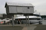 A boat shed in Vancouver