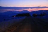Approaching Ingleborough at twilight