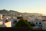Above the rooftops, Nerja by day