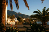 Nerja seafront in the morning
