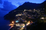 Positano at twilight