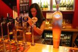 Bar Lady in Cardiff