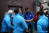 Italian Fans in Azuri Blue