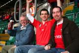 Welsh fans in Millennium Stadium, Cardiff