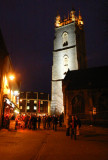 Trinity Church at Night, Cardiff