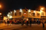 Owain Glyndwr pub at night, Cardiff