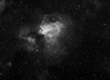 Messier 17 (M17) Swan Nebula in Sagittarius