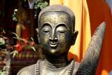Buddha's sculpture in a modern style