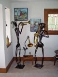 Jazz Men with Trumpeter Swan