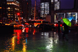 Montreal's  Downtown by a rainy evening...