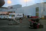 Portland Airport at 6 am