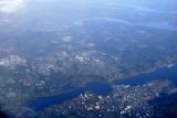 Somewhere over Washington