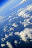 Islands, sea, clouds