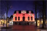 Raadhuis in Kerstsfeer