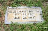 Willie Carroll Shelton (1901-1968)