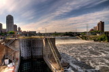 St. Anthony Falls Lock & Dam: Mississippi River, St. Paul, MN