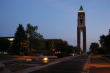 University Green and Shafer Tower