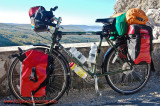 329    Heba - Touring France - Surly Long Haul Trucker touring bike
