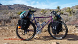 332    John - Touring California - Specialized Rock Hopper touring bike