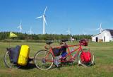 217  Tom & Sasha - Touring Canada - Santana Arriva touring bike
