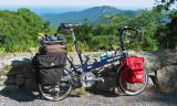 221  Keith - Touring Virginia - Bike Friday New World Tourist touring bike