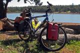 239  Andrew - Touring Australia - Giant Boulder SE touring bike
