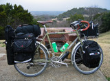 263  Bernie - Touring Texas - Surly Long Haul Trucker touring bike