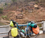 266  Bill - Touring Laos - Bruce Gordon Rock n Road touring bike