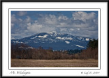 Mt. Washington.