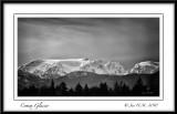 Comox Glacier and Mt. Harmston