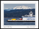 Quadra Island Ferry.