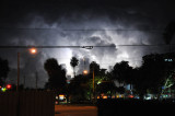 Just some shot of a heat lightning storm outside late last night