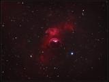 THE BUBBLE NEBULA - NGC 7635