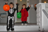Coco and Felix Trick or Treat!