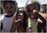 Local kids, Soweto slum, South Africa