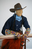 Indian Cowboy by Jamie Okuma