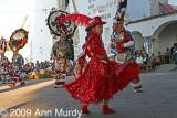 Doña Marina and the danzantes